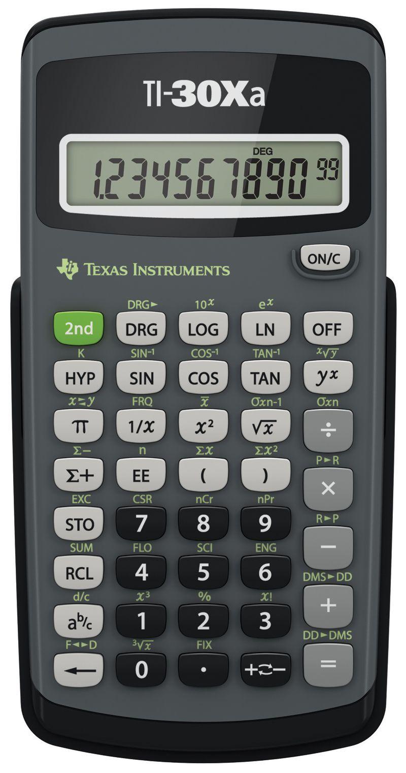 Texas Instruments TI-30XA Scientific Calculator | SchoolMart