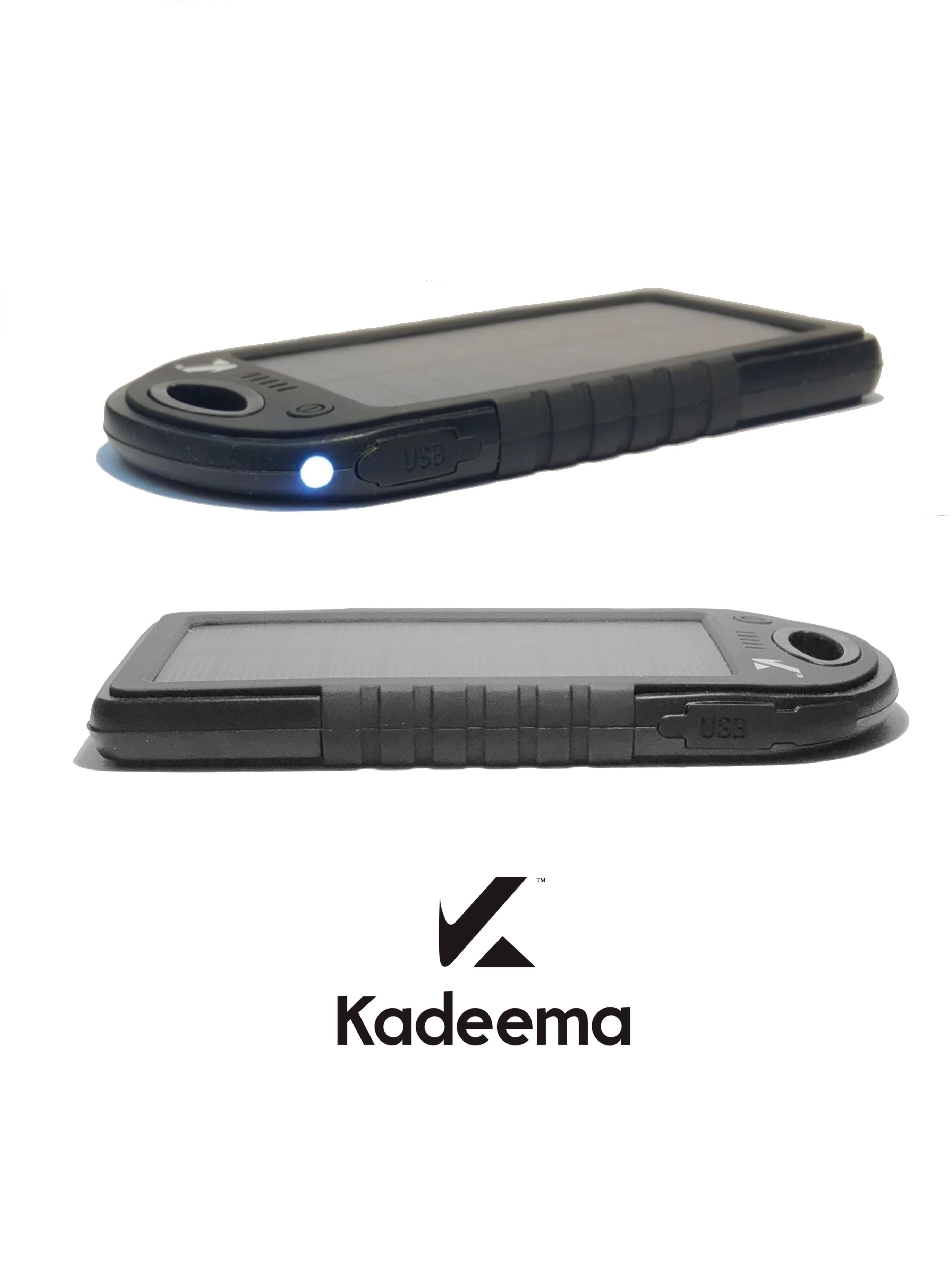 Check Out The Very First Product From Kadeema A Portable Power Bank For Charging Phones Tablets Wi Solar Charger Portable Portable Power Bank Solar Charger