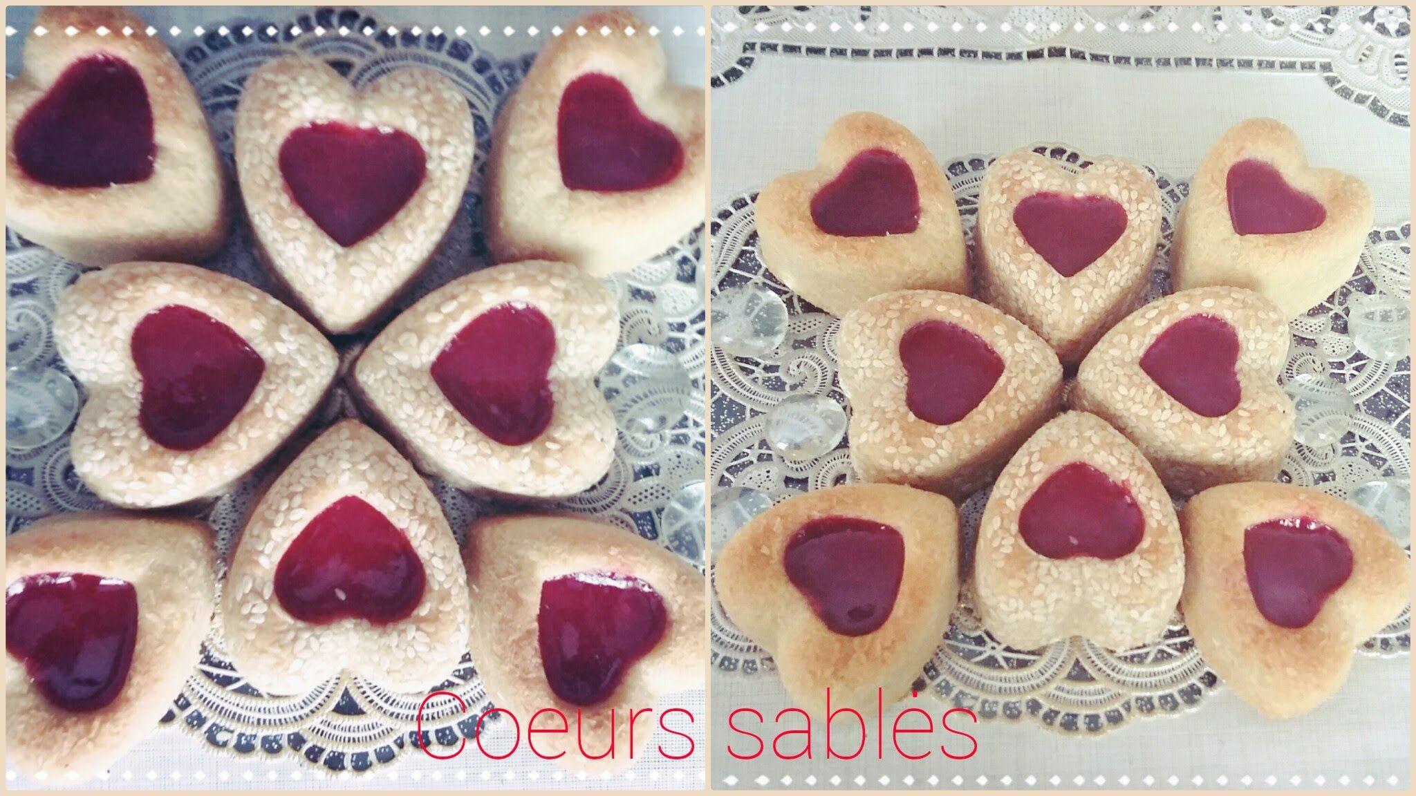 Coeurs Aux Grain De Sesame Djeldjlania Gateaux Algerien Facile Et Rapide Sables جلجلانية Youtube Gateau Algerien Facile Gateau Algerien Alimentation