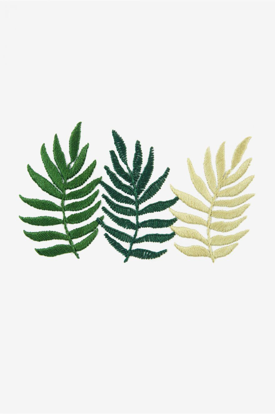 Triple Fern Free Pattern by Sew and Saunders on DMC site | Free ...