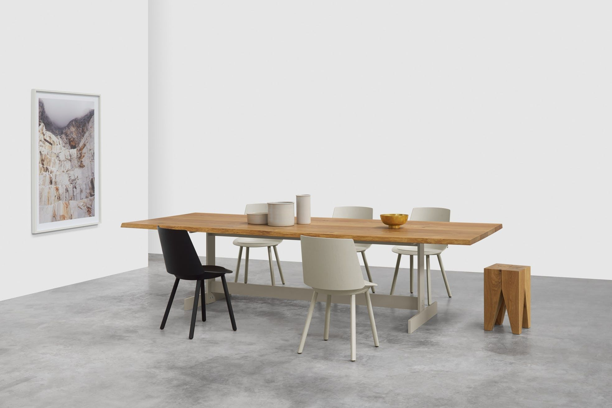Kazmir Raw Table By E15 Furniture Now Available At Haute Living