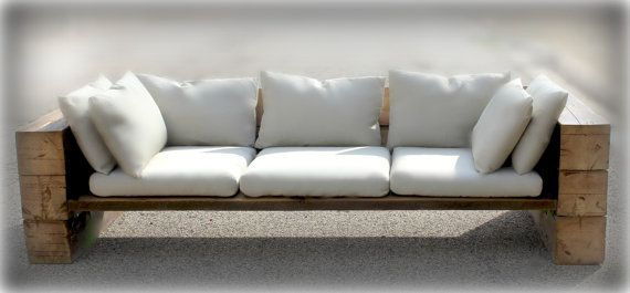 Reclaimed Wood Sofa, Couch, Sectional, Reclaimed Wood, Indoor/Outdoor, Free  Shipping!