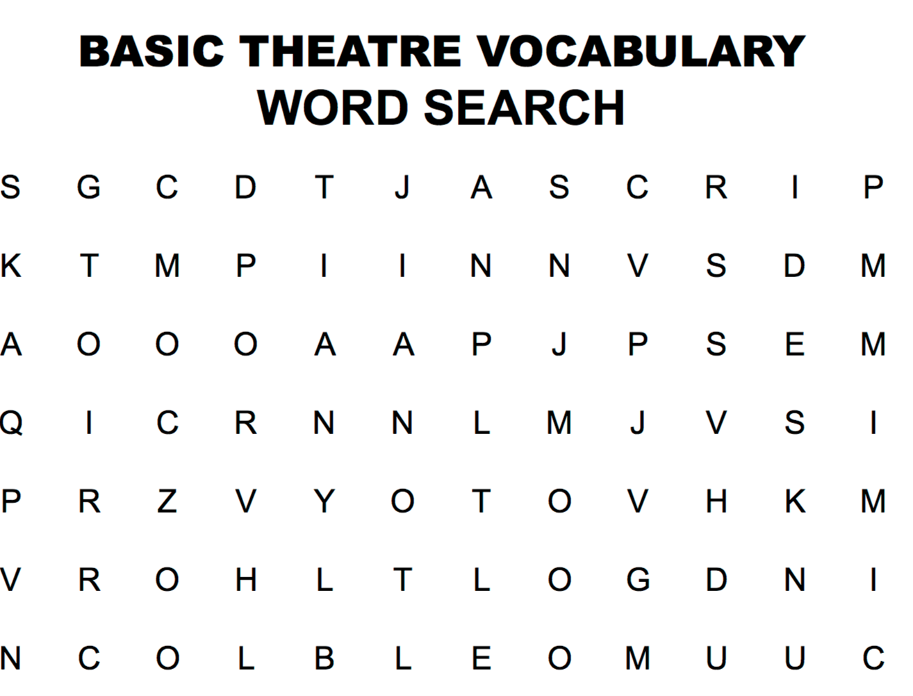 This Is An Online Word Search Vocab Activity Sheet It