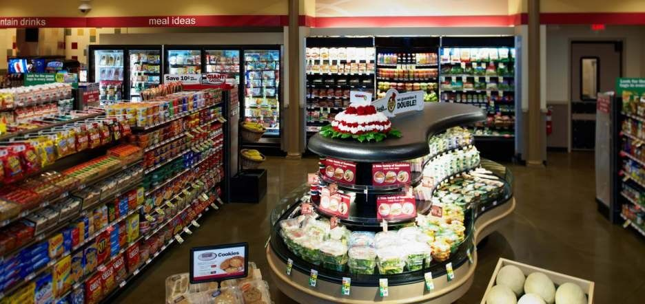 Magnificent convenience store design 936 x 442 125 kb for Retail store setup ideas