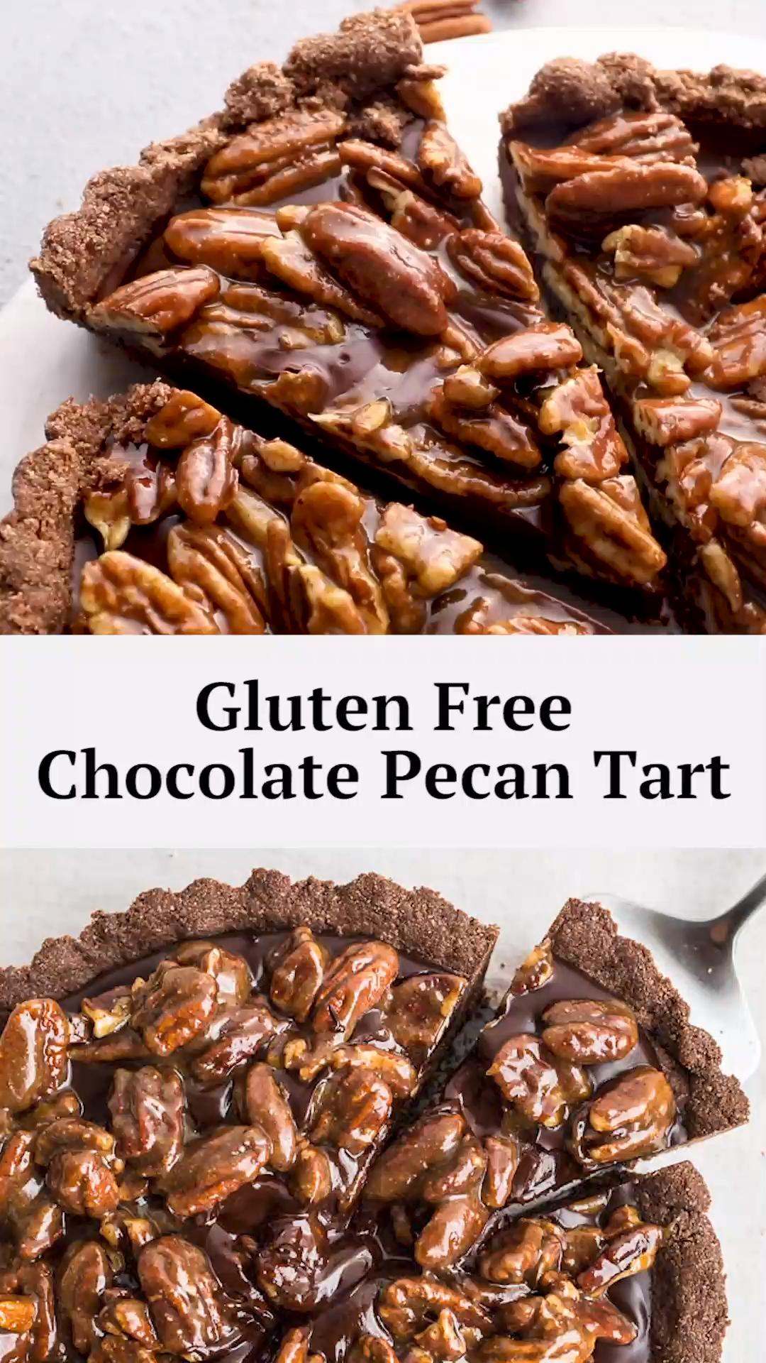 GF Chocolate Pecan Tart