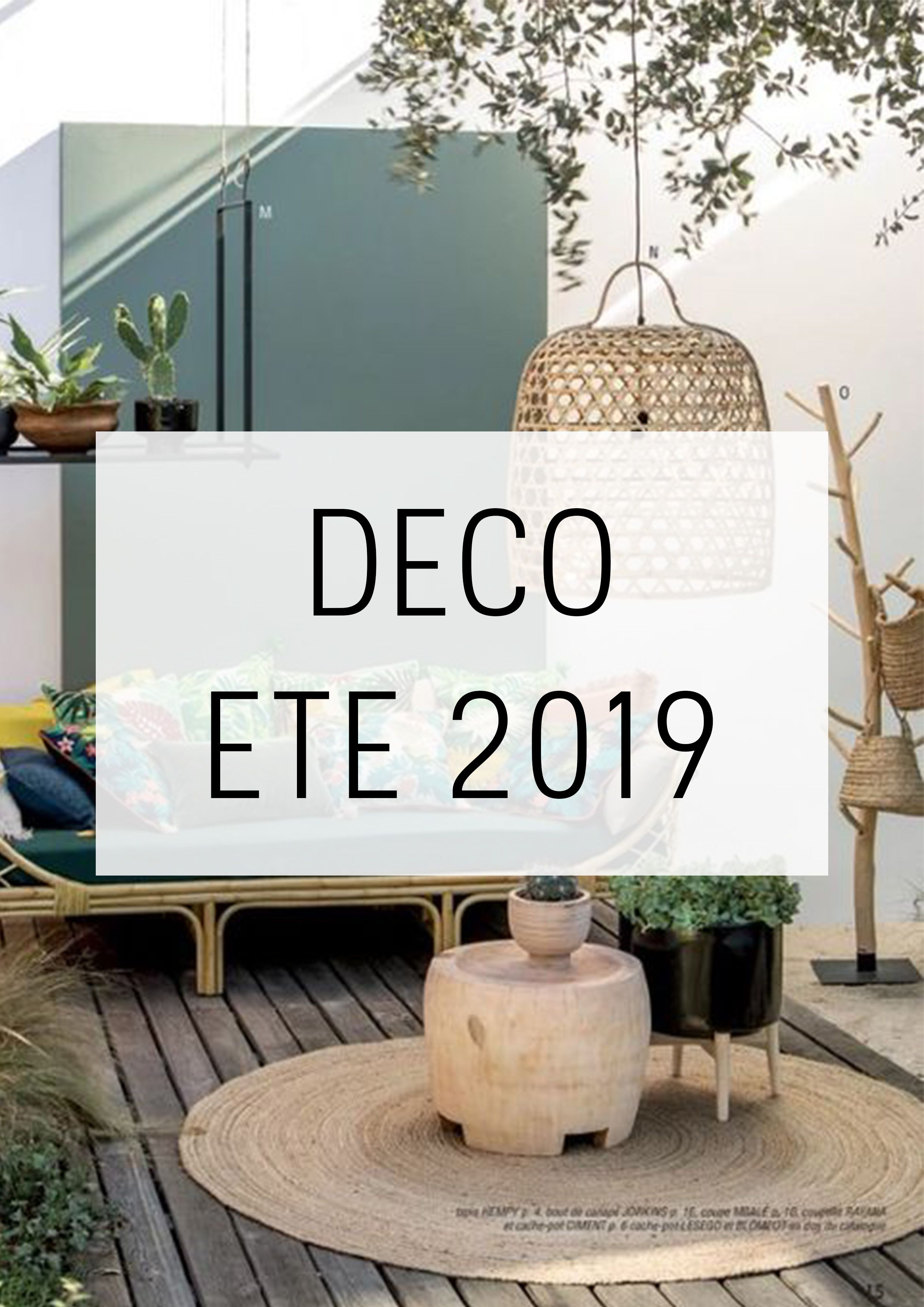DÉCO ÉTÉ 2019 : DIY & Sélection shopping