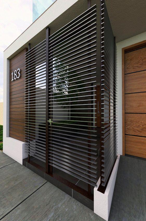 Fachadas de casas modernas de dos pisos puertas y for Ventanas para fachadas de casas modernas