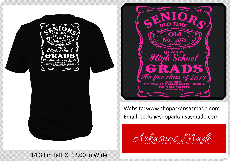 Senior 2018, contains high levels of senioritis, class of 2018 shirt, 2018 grad shirt, graduation shirt, Senior shirt, 2018 shirt, to 4x