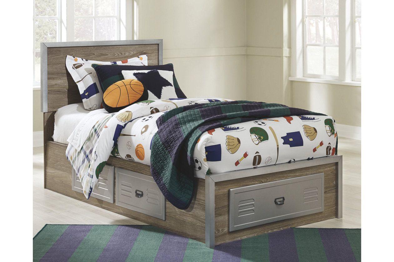 Mckeeth Twin Panel Storage Bed Storage Bed Twin Storage Bed