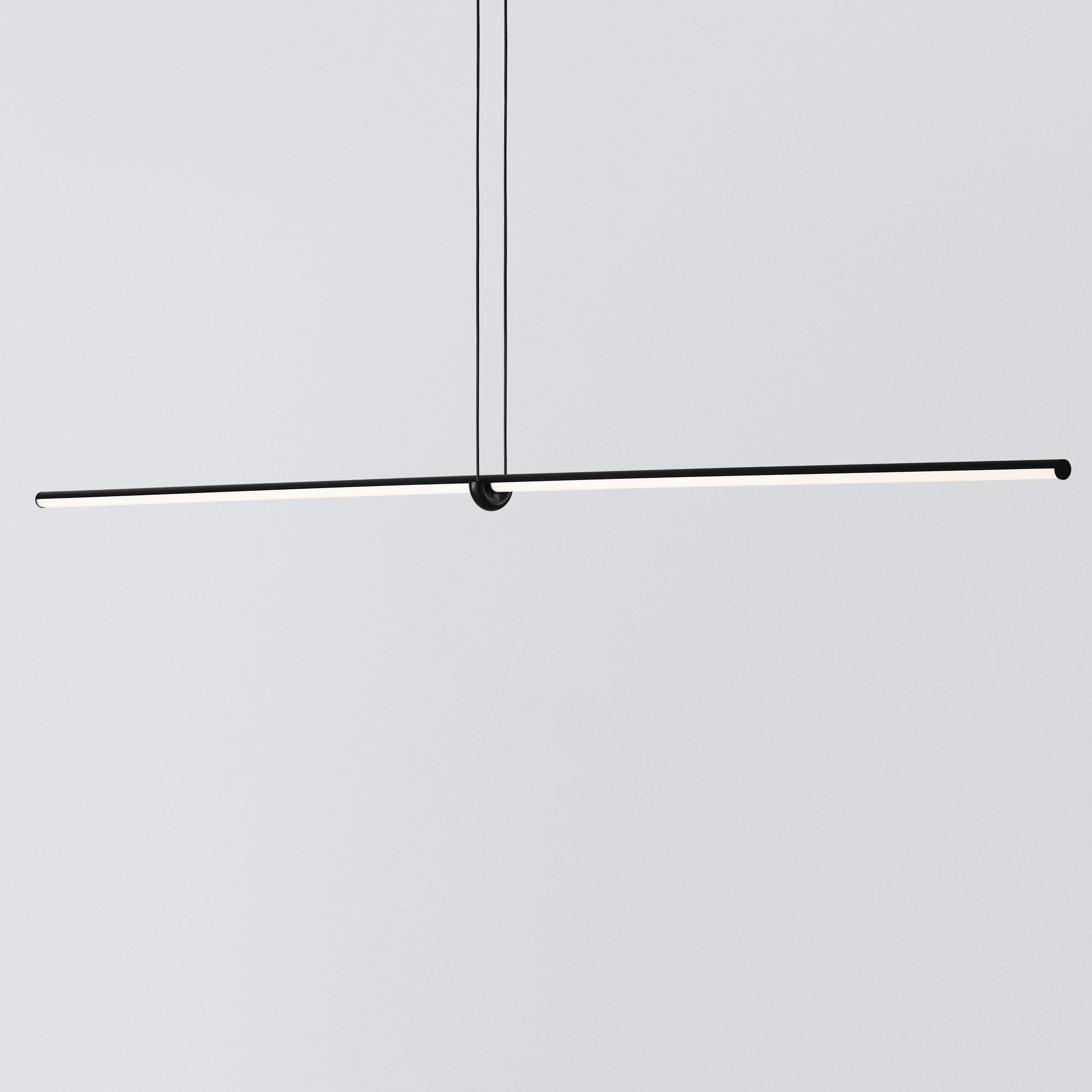 Arrangements Line Suspension By Flos Lighting Lc Arrnge Line Geometric Lighting Linear Pendant Lighting Flos