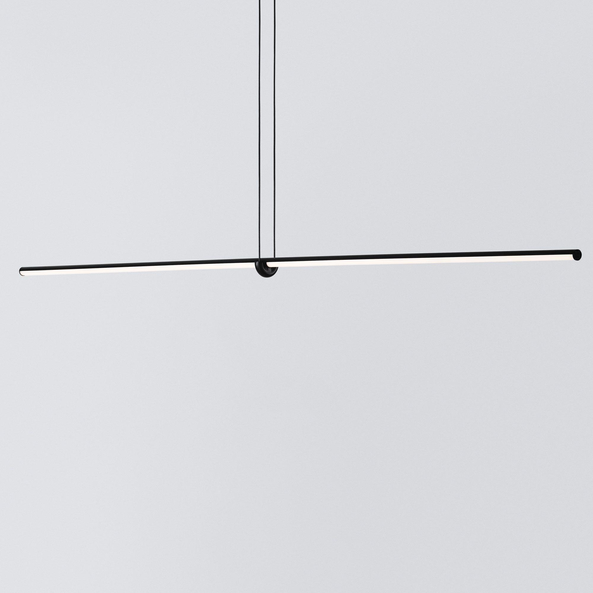Arrangements Line Suspension By Flos Lighting Lc Arrnge Line In 2020 Geometric Lighting Linear Pendant Lighting Flos