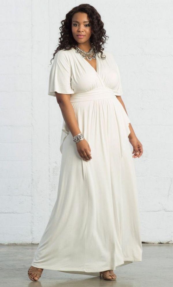 5ae8f095b5 White Maxi Dress for Bridal Shower on @AislePerfect via @aislesociety