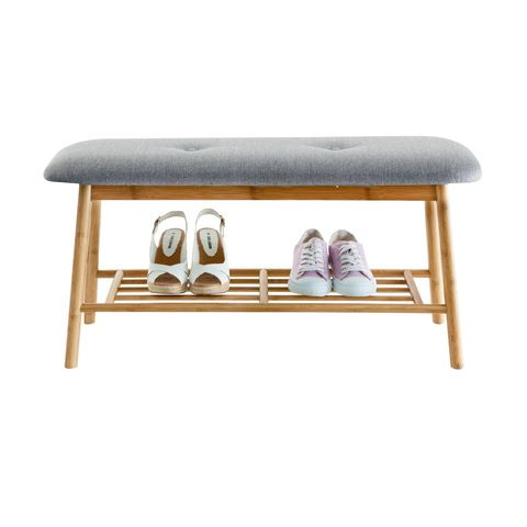 scandi shoe rack from kmart for entry way