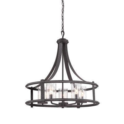 Designers fountain palencia 5 light candle chandelier reviews wayfair