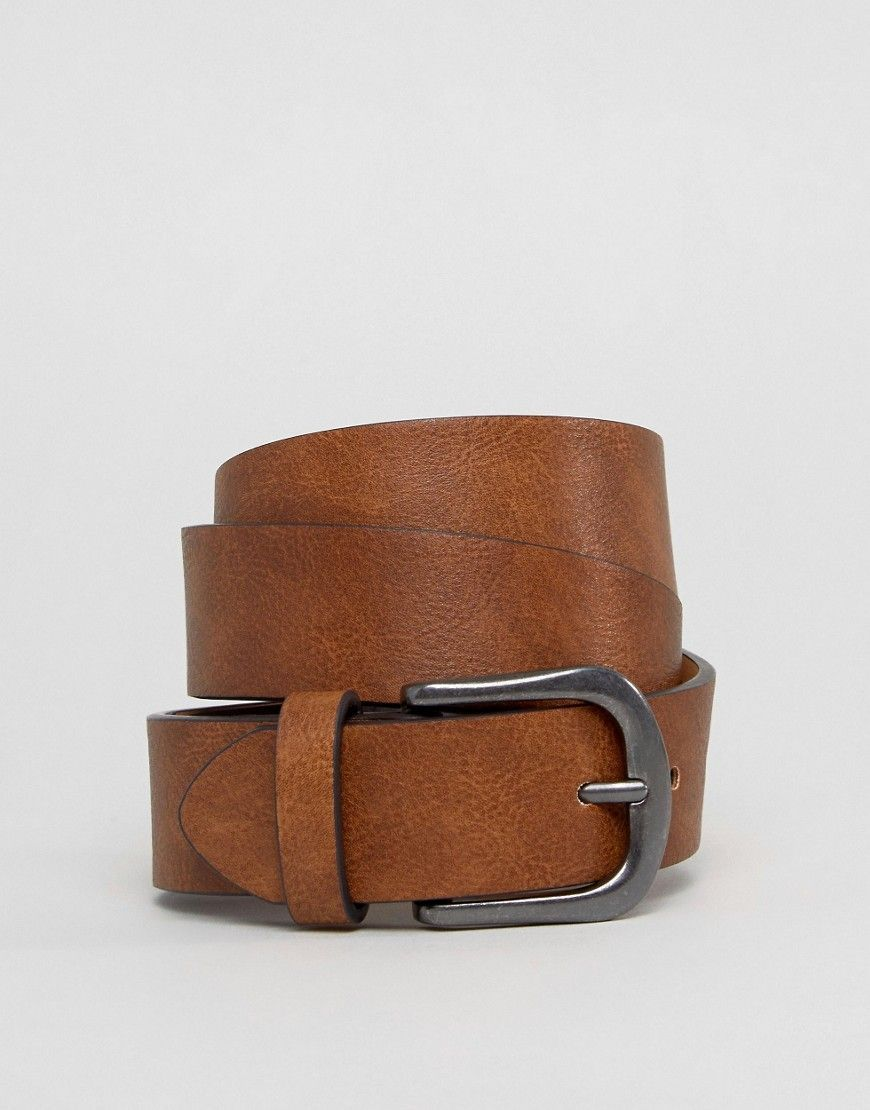 Photo of ASOS Vintage Tan Jeans Belt – Brown Si eres como yo, vives y r