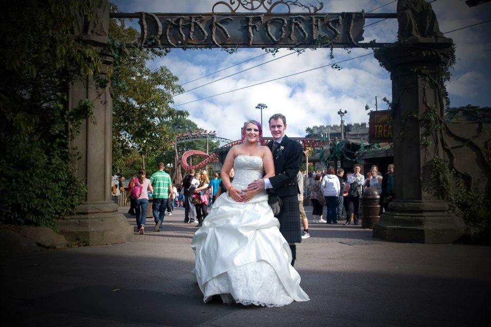 Alton Towers Alton Tower Wedding