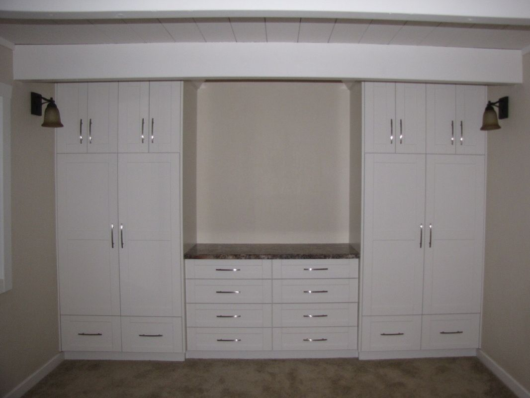 Choosing artwork as bedroom wall units home design