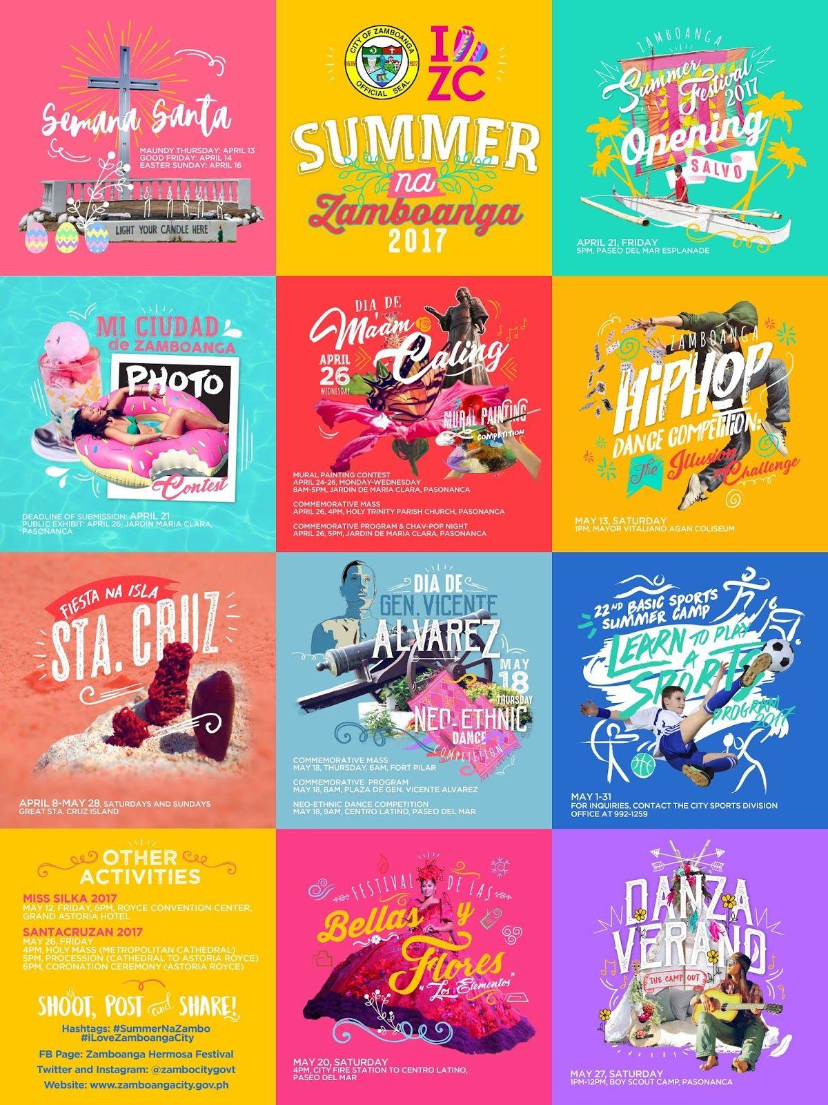 Poster design program - Zamboanga Summer Festival 2017 Summer Na Zamboanga Poster Design By Ced Zabala Csz97 Blogspot