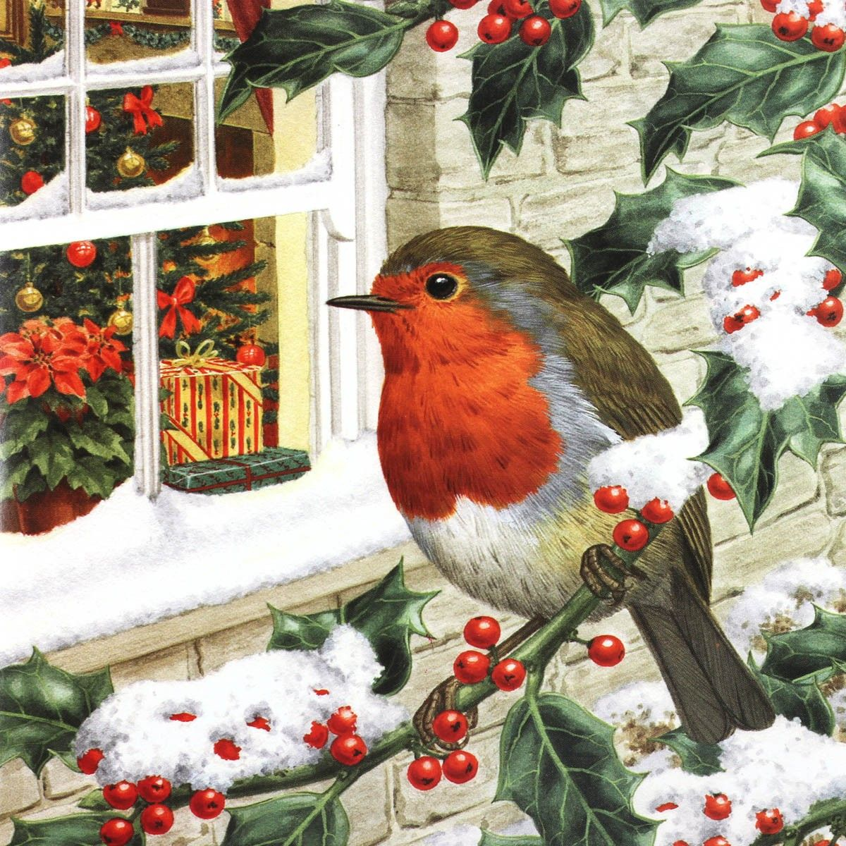 Christmas robin greeting card google search vintage christmas christmas robin greeting card google search kristyandbryce Choice Image