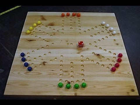 How to make a wahoo board game youtube games pinterest how to make an aggravation board game a do it yourself project for making a popular marble game board out of wood solutioingenieria Choice Image