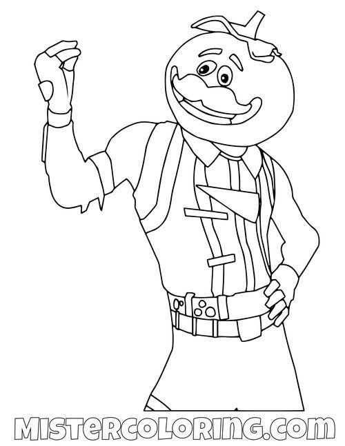 fortnite coloring pages for kids — mister coloring in 2020