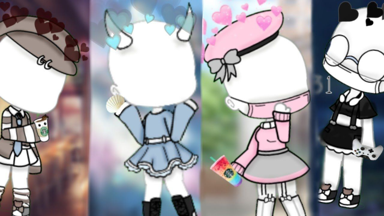 6 Cute Gacha Life Outfits Gacha Life Moonlan Character