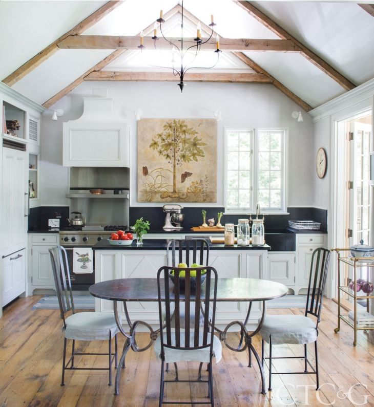 Connecticut Kitchen Design Brilliant Step Inside A Swedishinspired Riverfront Cottage  Lush Garden Review