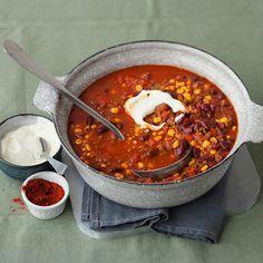 Chili con Carne Rezept #stockbrotrezept