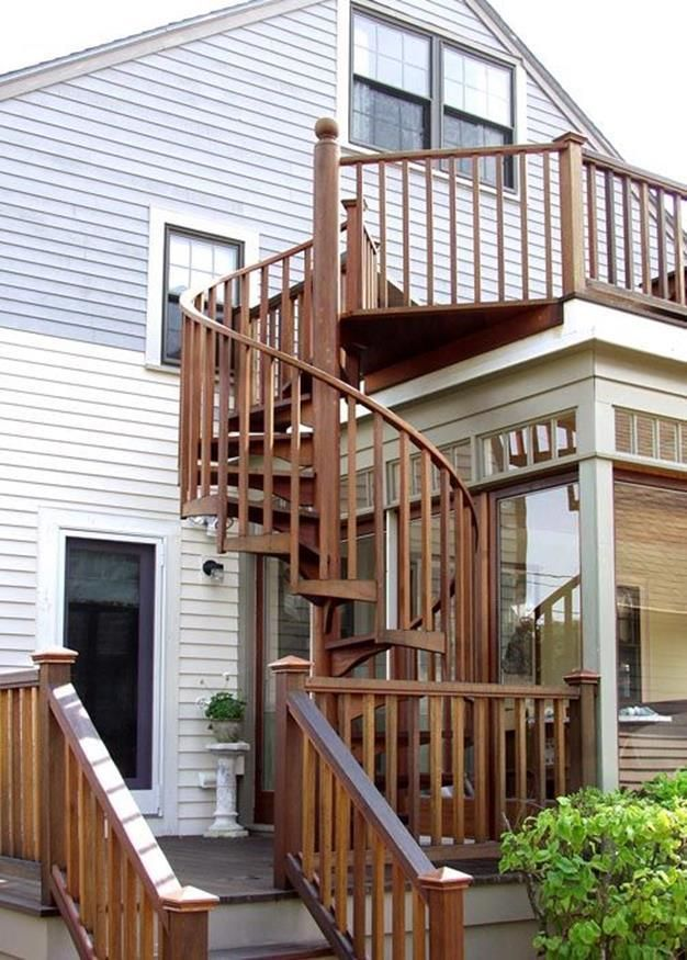 Best 23 Perfect Outdoor Spiral Staircase Design Ideas Outdoor 400 x 300