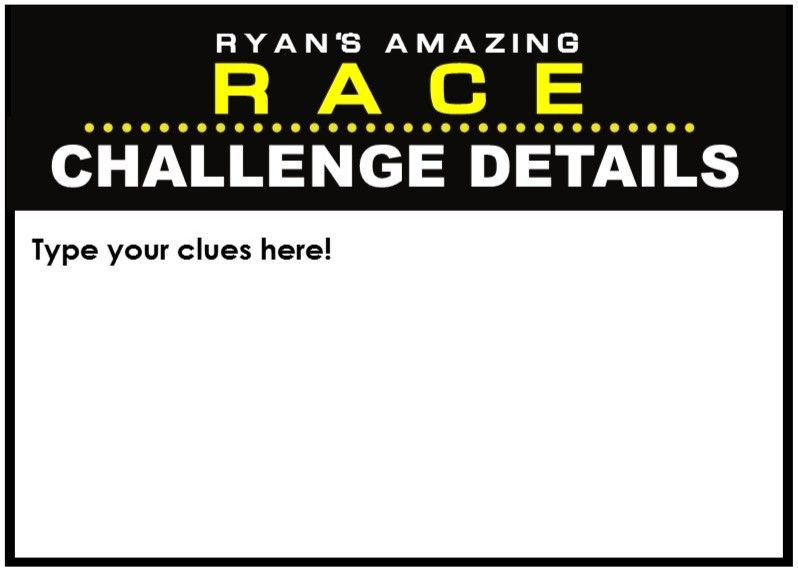 Amazing Race Party Supplies And Printables Including Invitations Pit Stop Clue Cards Water Bottle Wrappers Team B Amazing Race Party Amazing Race Race Party