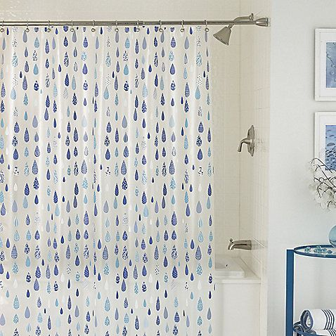 April Showers 70 Inch X 72 Inch Shower Curtain Kids Shower