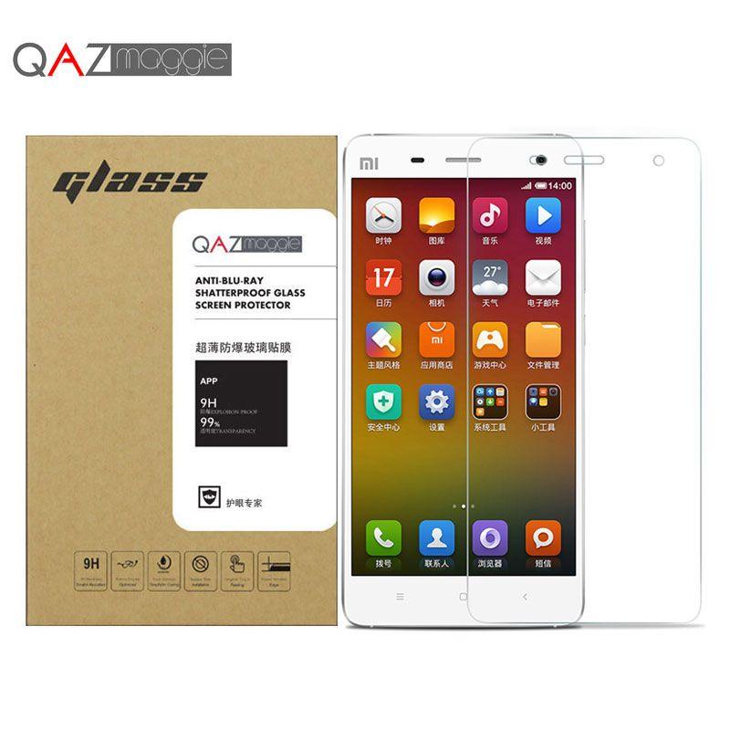 Xiaomi mi4 강화 유리 0.26 미리메터 2.5d 방폭 화면 보호기 xiaomi m4 mi4