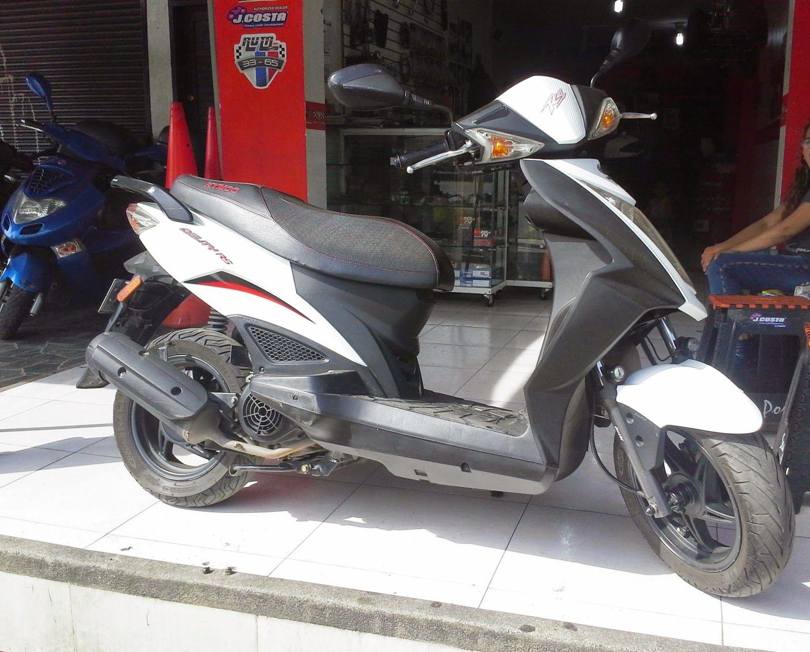 Scooter Team: VENDO AGILITY RS 125cc, Modelo 2011