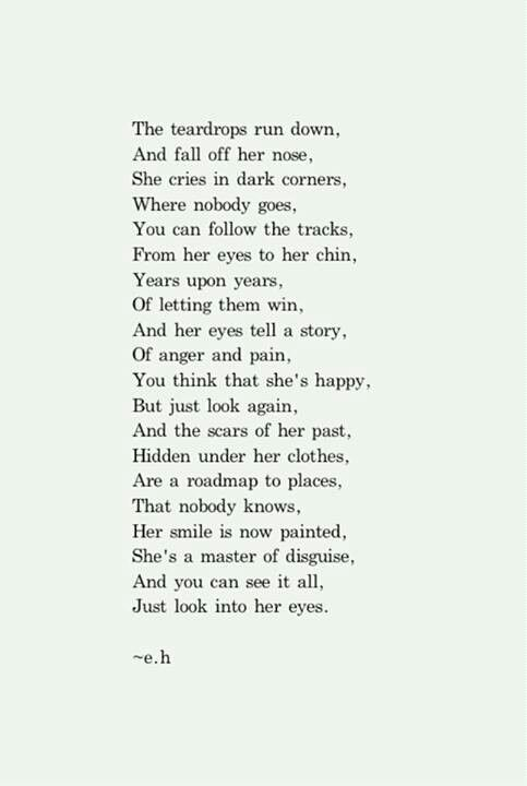 Just Look In Her Eyes Save It Pinterest Eye Poem And Thoughts