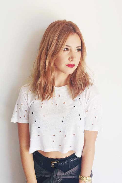 15 Long Strawberry Blonde Hair
