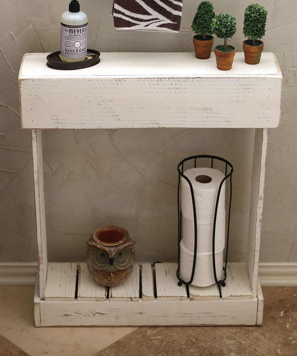 Infuse The Bathroom Or Entryway With The Weathered Feel Of This