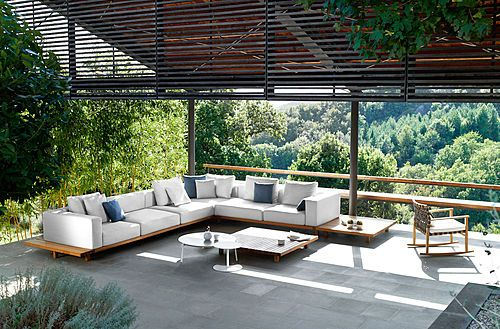 vis vis sofa presented at i saloni milan archiexpo - Outdoor Lounge Vis A Vis