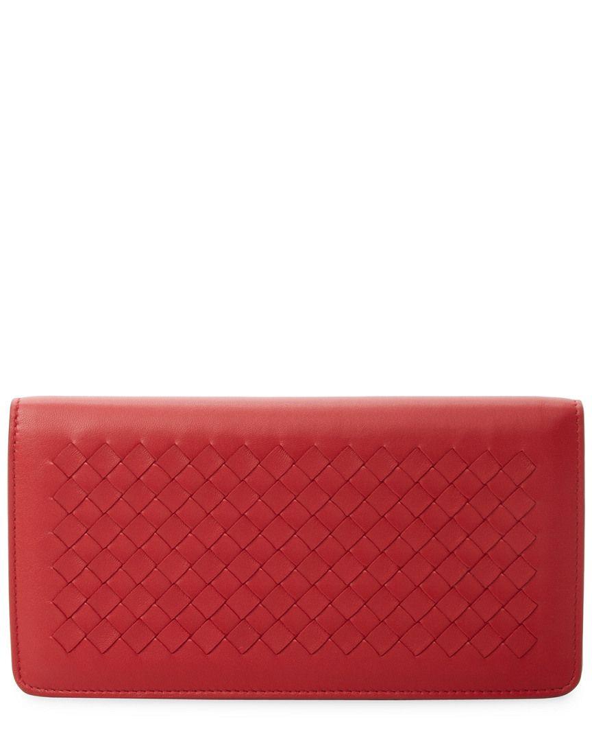 30ac19702b70 Bottega Veneta Intrecciato Leather Wallet On Chain  Intrecciato ...