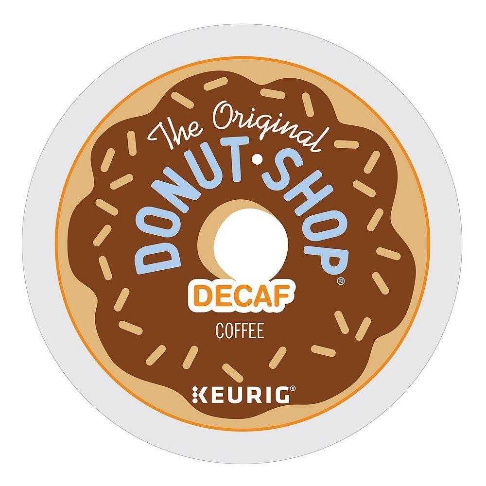 The Original Donut Shop Coffee Keurig KCups, Decaf