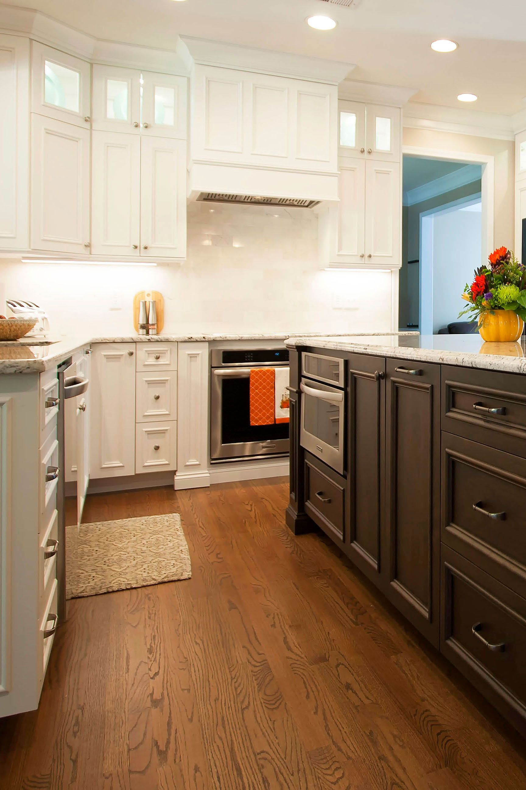 Two Toned Kitchen Best Kitchen Cabinets Kitchen Cabinets Kitchen
