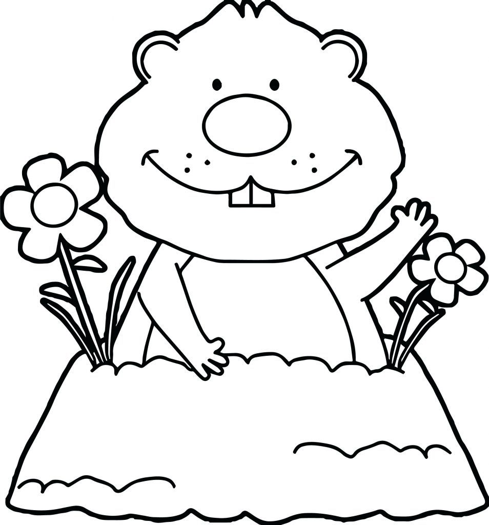 Groundhog Coloring Pages Best Coloring Pages For Kids Animal Coloring Pages Mermaid Coloring Pages Happy Groundhog Day [ 1024 x 954 Pixel ]