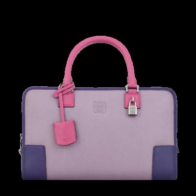 Loewe A Lilac Magenta Handbag