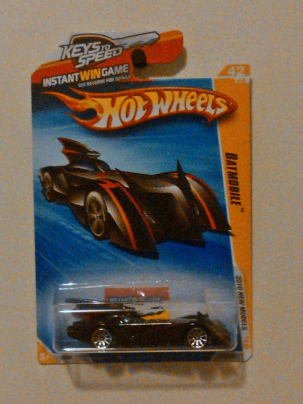 Batmobile 1 64 Scale Hot Wheels Keys To Speed 2010 New Models