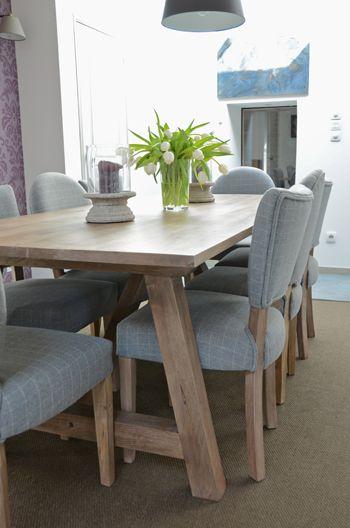 Shooting photo de la Table en bois brut Nantuket… » Blog déco ...