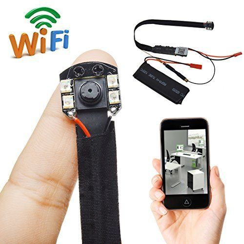 Hidden Invisible Hd 1080p Wifi Mini Dvr Diy Module Spy Ip Camera Security 12 Mp Check This Awesome Product By Goin Gadget World Smartphone Hacks Spy Gadgets