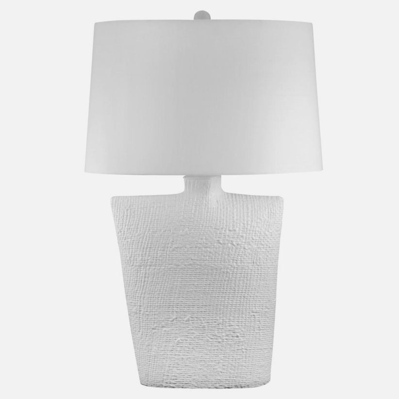 Textured Oval Bisque Ceramic
