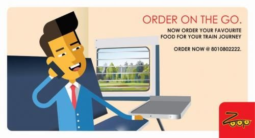 Food delivery service in trains :: zoopindia by Zoop India