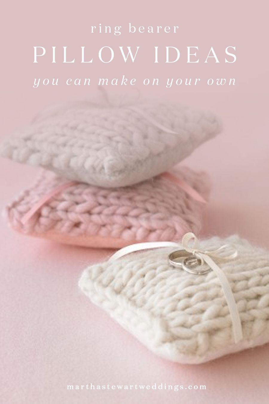 Ring Bearer Pillow Ideas You Can Make on Your Own   Martha Stewart ...
