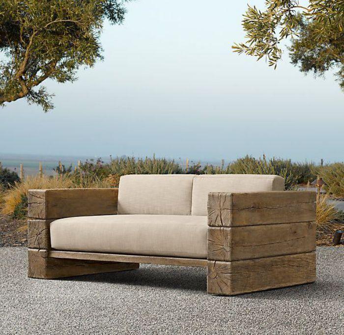 11 Wooden Sofa Ideas Muebles Rusticos De Jardin Sillones