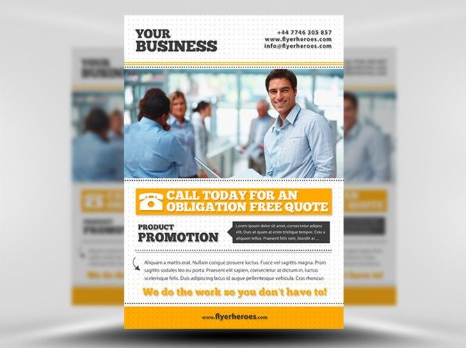 Free Business Flyer Template Psd Download Business Emails Http
